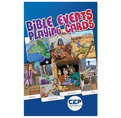 Bible Event Playing Cards