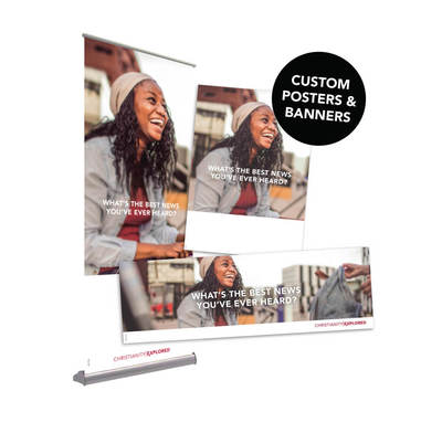 CE Customisable Posters & Banners: Bag Design