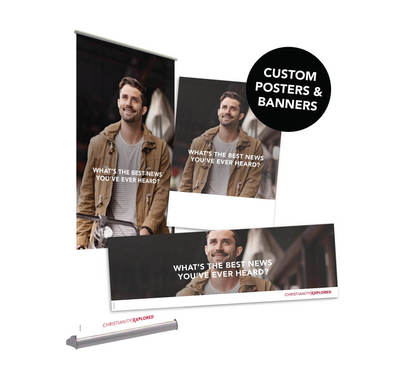 CE Customisable Posters & Banners: Duffle Design