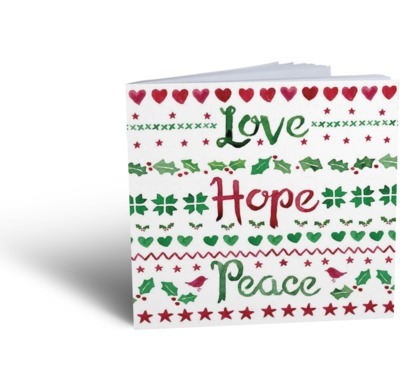 Love, Hope, Peace tract