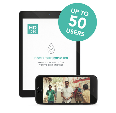 Discipleship Explored Episodes (HD) - Multi User License
