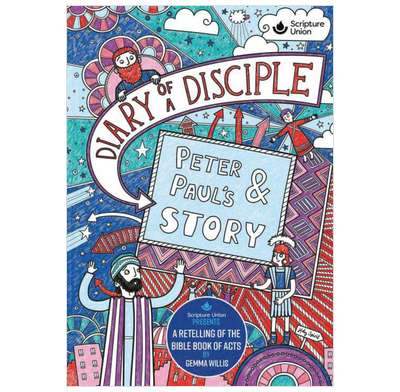 Diary of a Disciple: Peter and Paul's Story (paperback)