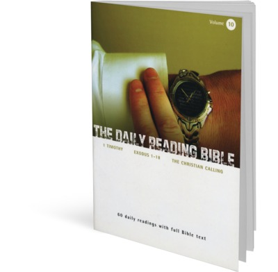 The Daily Reading Bible - Volume 10