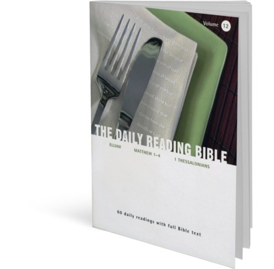 The Daily Reading Bible - Volume 12