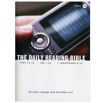 The Daily Reading Bible - Volume 16