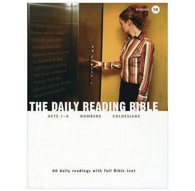 The Daily Reading Bible - Volume 18