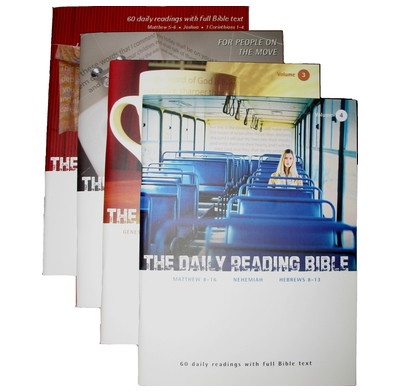Daily Reading Bible Subscription (4 issues)