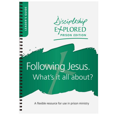 Discipleship Explored Prisons Starter Pack