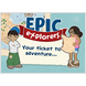 Epic Explorers Invitations (Pack of 50)