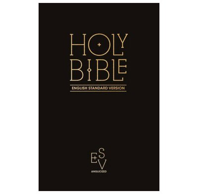 ESV Black Hardback Pew Bible