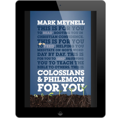 Colossians philemon for you ebook mark meynell the good book colossians philemon for you ebook fandeluxe Images