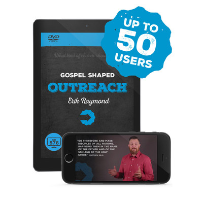 Gospel Shaped Outreach - SD Episodes (Multi User)