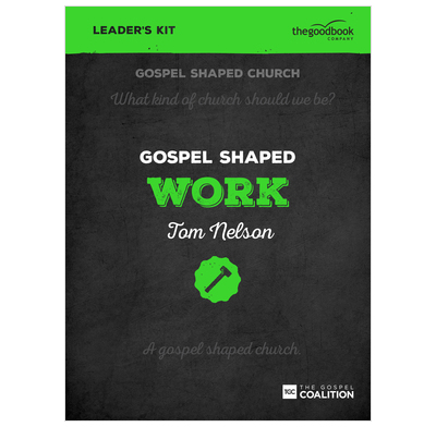Gospel Shaped Work - DVD Leader's Kit