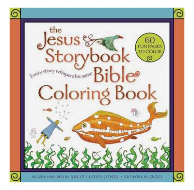 Jesus Storybook Bible Coloring Book