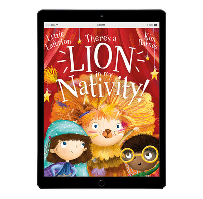 Download the full-size illustrations - There's a Lion in my Nativity