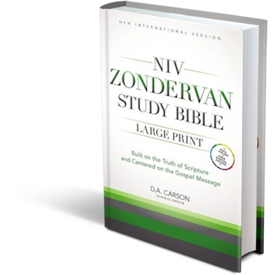 NIV Large Print Study Bible