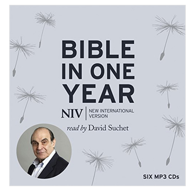 NIV Audio Bible in One Year