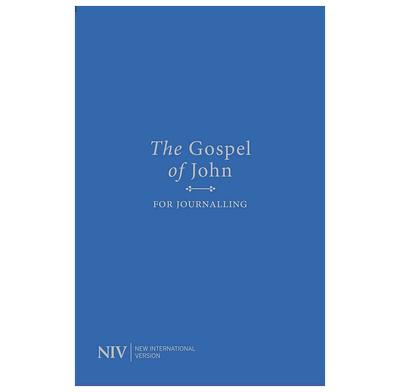 NIV Gospel of John for Journalling (Blue)