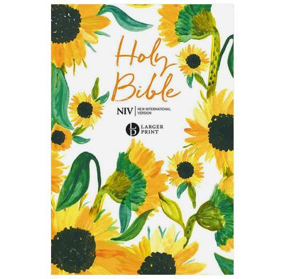 NIV Larger Print Soft-tone Bible