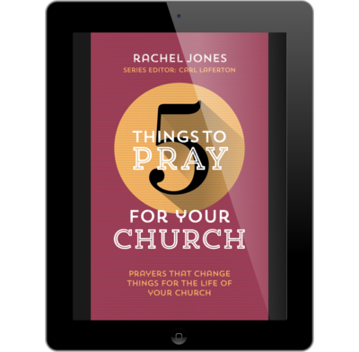 5 Things to Pray for your Church (ebook)