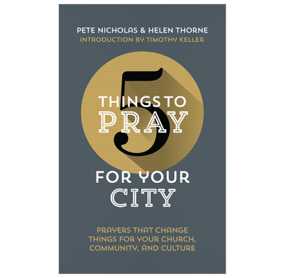 5 Things to Pray for Your City (ebook)