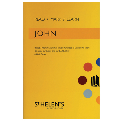 Read Mark Learn: John