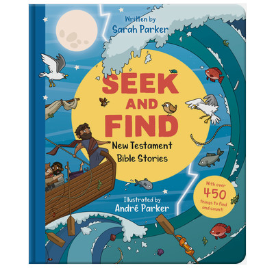 Seek and Find: New Testament Bible Stories