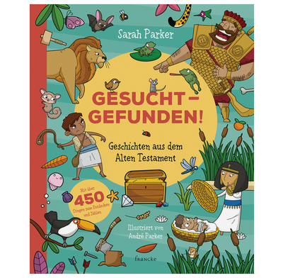Seek and Find: Old Testament Bible Stories (German)