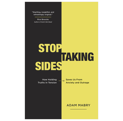 Stop Taking Sides (audiobook)
