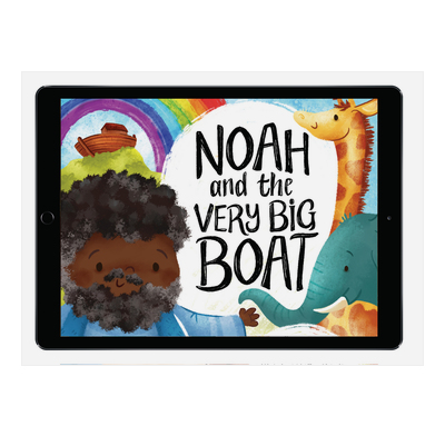 Download the full-size illustrations - Noah and the Very Big Boat