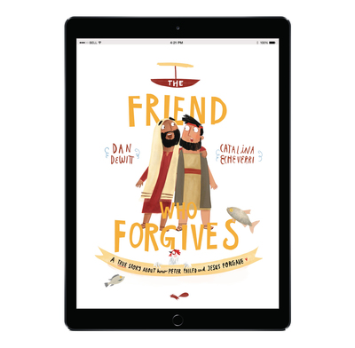 Download the full size illustrations - The Friend who Forgives