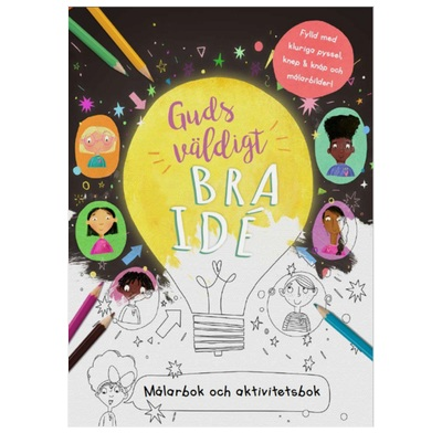 God's Very Good Idea Colouring Book (Swedish)