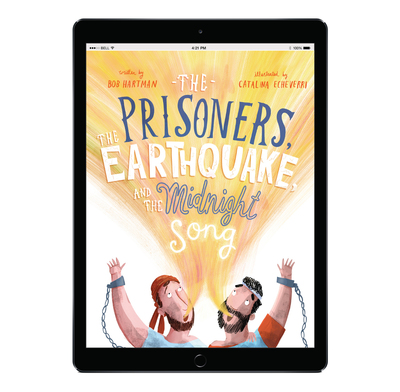 Download the full-size illustrations - The Prisoners, the Earthquake and the Midnight Song