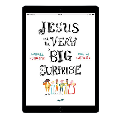 Download the full-size illustrations - Jesus and the Very Big Surprise
