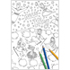 The Christmas Promise Giant Colouring Poster