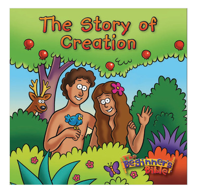 The Story of Creation Bath Book