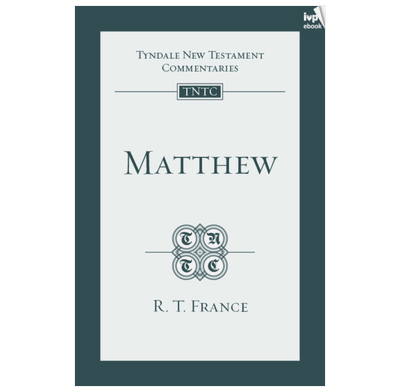 Tyndale NT Commentary: Matthew (ebook)