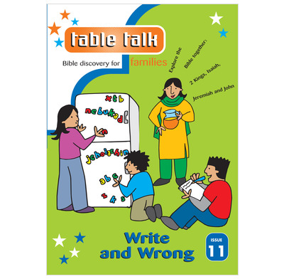 Table Talk 11:  Write and Wrong