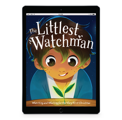 Download the full size illustrations - The Littlest Watchman