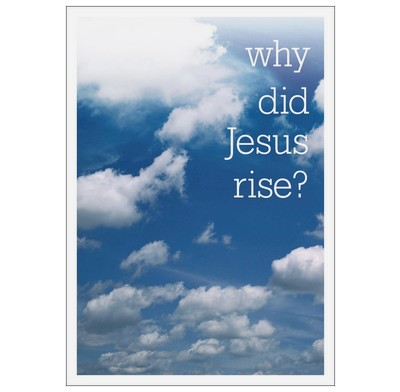Why Did Jesus rise? (Access for All)
